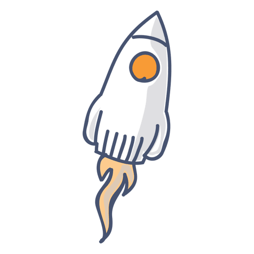 Rocket illustration Transparent PNG