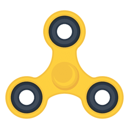 Three shooter spinner illustration