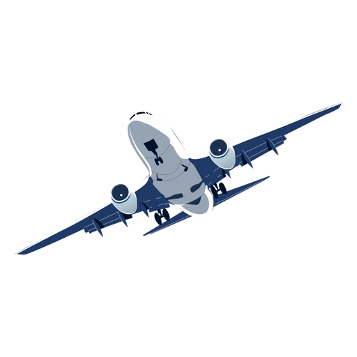 Airplane banking Transparent PNG