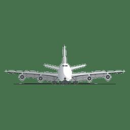 Pouso de avião