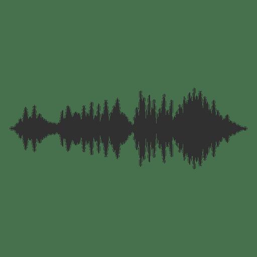 Onda de áudio Transparent PNG