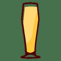 Vidrio pilsner de cerveza