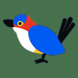 Ilustração do pássaro