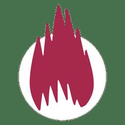 Vetor de chama