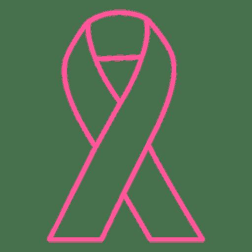Fita de derrame de câncer de mama Transparent PNG