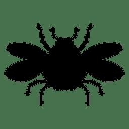 Abejorro silueta