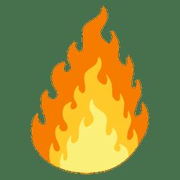 Desenho de fogo ardente