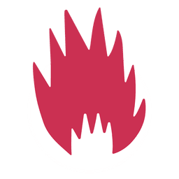 Burning fire symbol