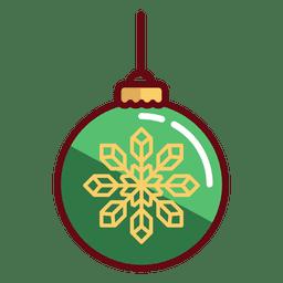 Navidad bola navidad icono