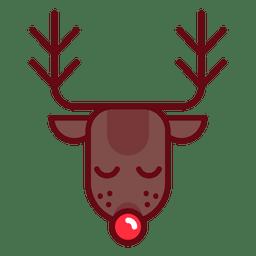 Reno de navidad rudolph