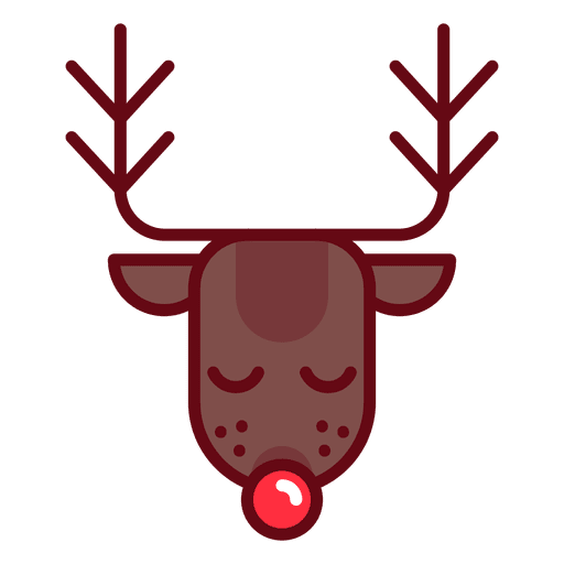 Christmas deer Transparent PNG
