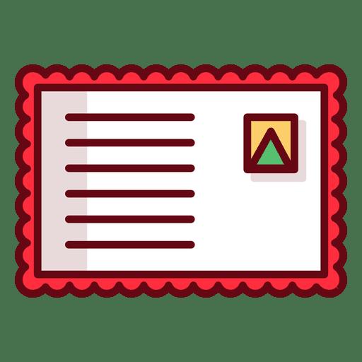 Envelope de natal Transparent PNG