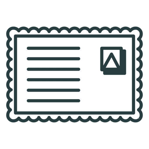 Ícone de envelope de Natal Transparent PNG