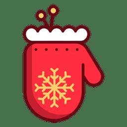 Guante de navidad
