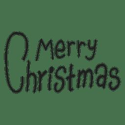Insignia de saludos de navidad