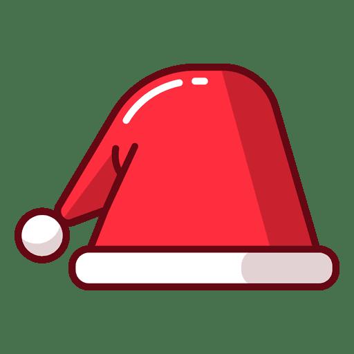 Chapéu de natal Transparent PNG