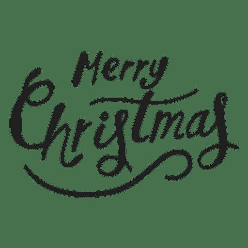 Insignia de vacaciones de navidad Transparent PNG