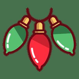 Ícone de luzes de Natal