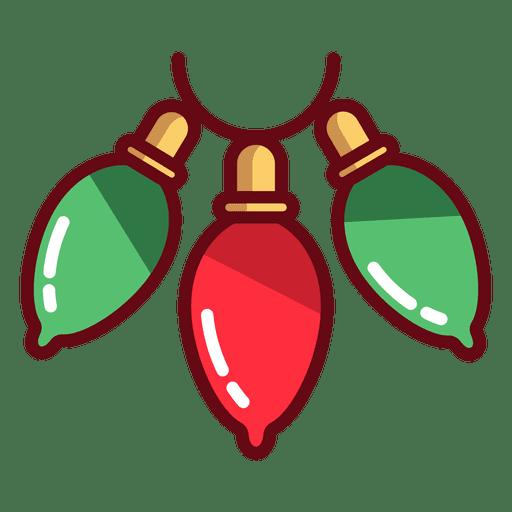 Ícone de luzes de Natal Transparent PNG