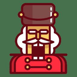 Cascanueces de navidad