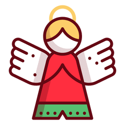 Christmas ornament angel