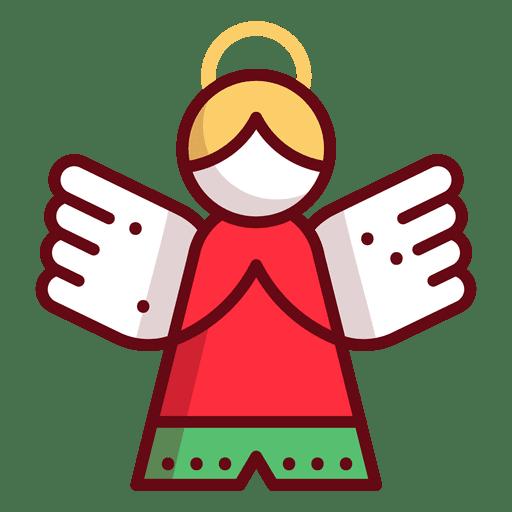 Christmas ornament angel transparent png svg vector
