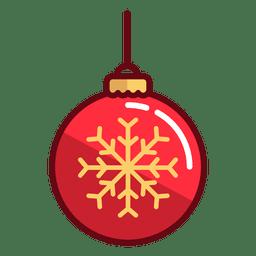 Bola de adornos de navidad