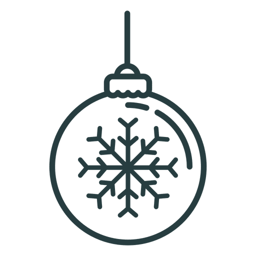 Christmas Ornament Ball Icon Transparent Png Svg Vector File