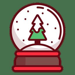 Peso de papel de Natal