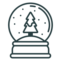 Christmas paperweight icon