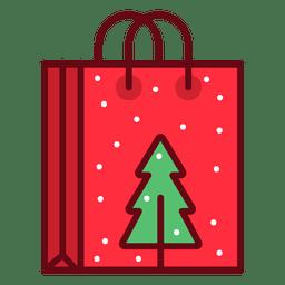 Bolso de compras de Navidad