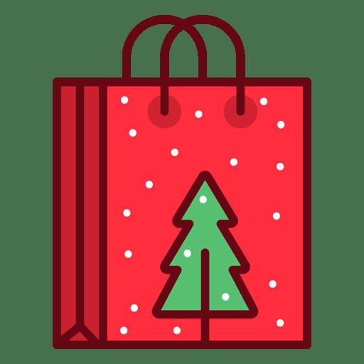 Saco de compras de natal Transparent PNG