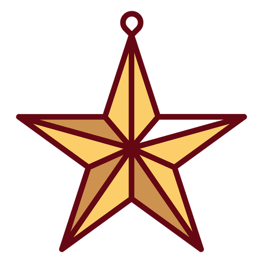 estrela de Natal Transparent PNG