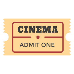 Cinema admission ticket