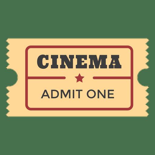 Entrada al cine Transparent PNG