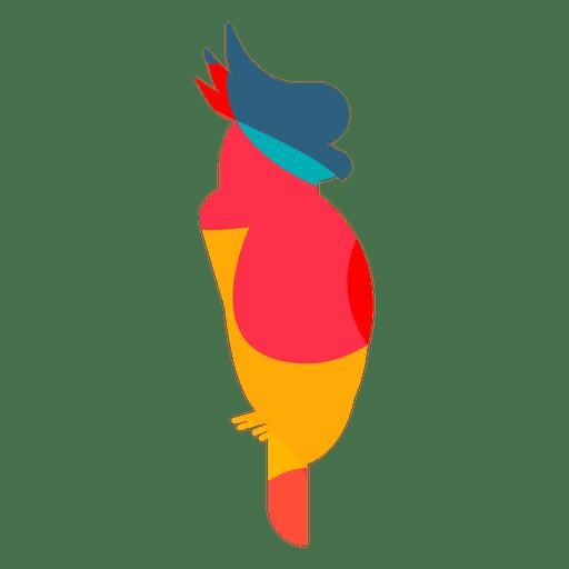 Abstrakte Farbe des Kakadus Transparent PNG