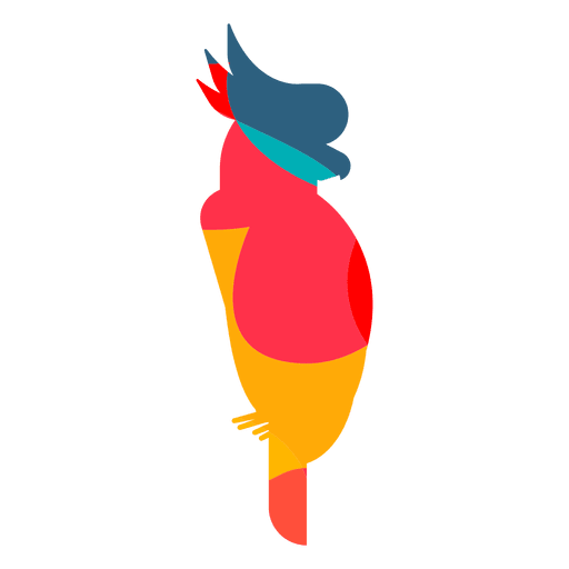 Cockatoo Abstract Color Transparent Png Svg Vector