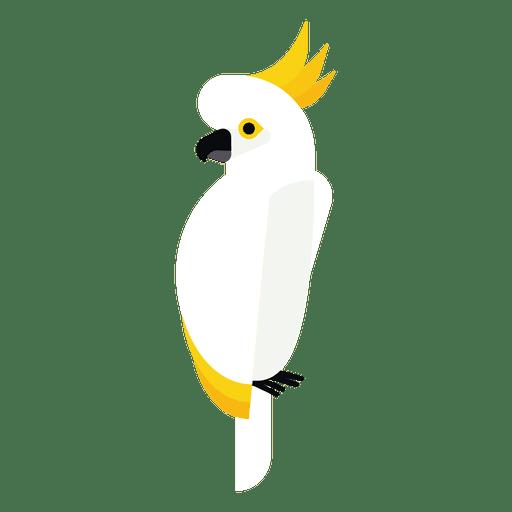 Cockatoo illustration Transparent PNG