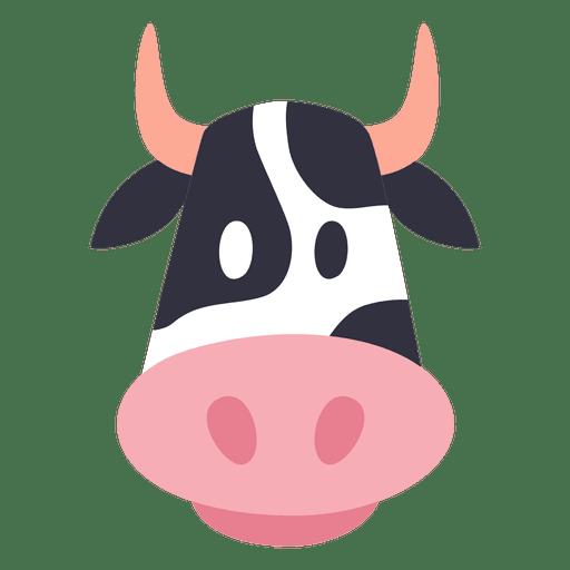 Avatar de vaca Transparent PNG