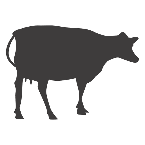 cow silhouette cow silhouette transparent png svg vector rh vexels com cow face silhouette free vector cow silhouette vector free download