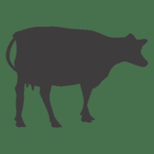 Vaca silueta vaca silueta Transparent PNG