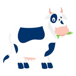 Vaca sorprendida