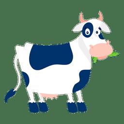 Vaca surpreendido