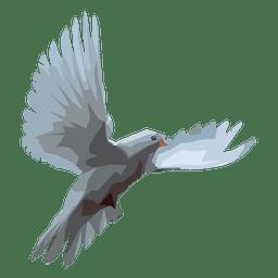 Ilustración de la paloma
