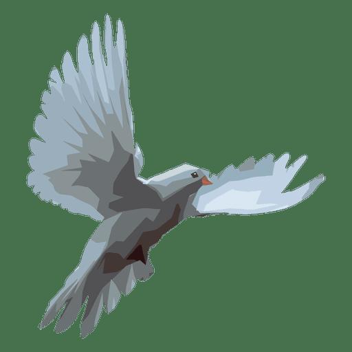 Ilustração de pomba