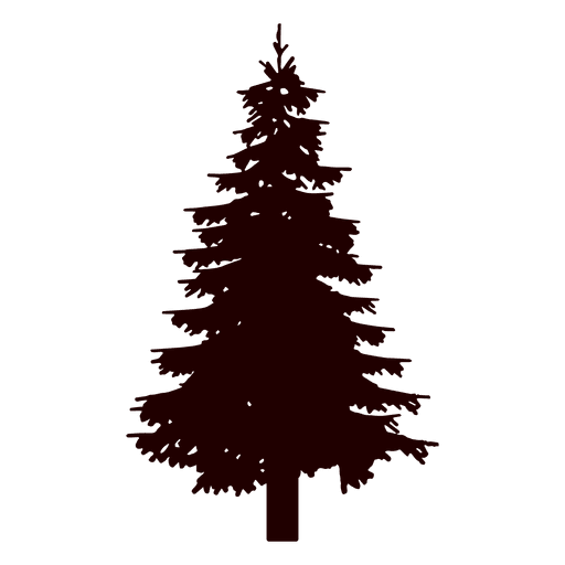 Fir Tree Silhouette Transparent Png Svg Vector File