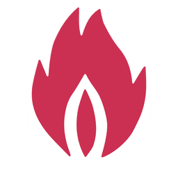 Feuer Flamme Silhouette