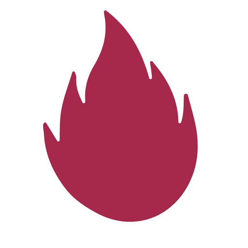 Fire silhouette Transparent PNG