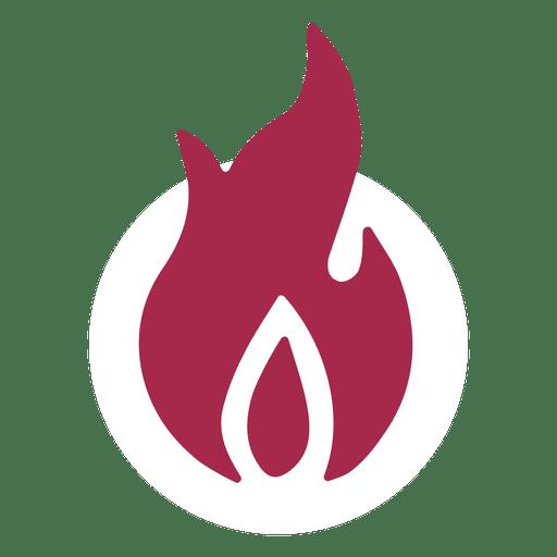 Símbolo de fogo Transparent PNG