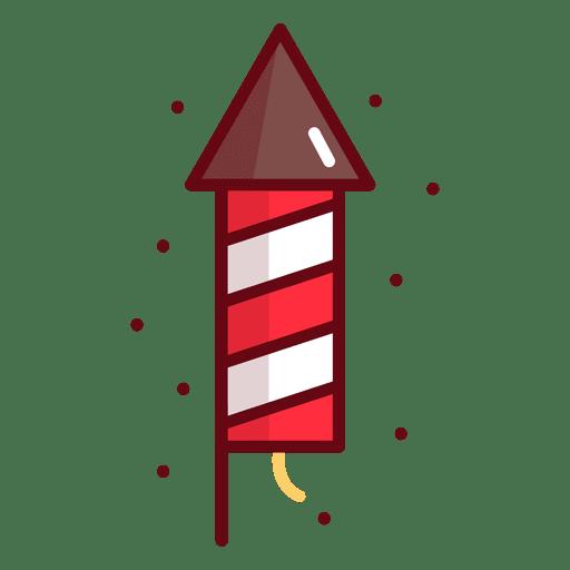 Cohete de fuegos artificiales